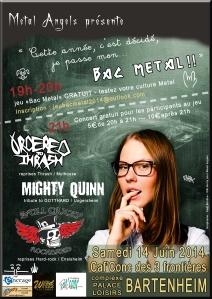 affiche Bac metal GAEL