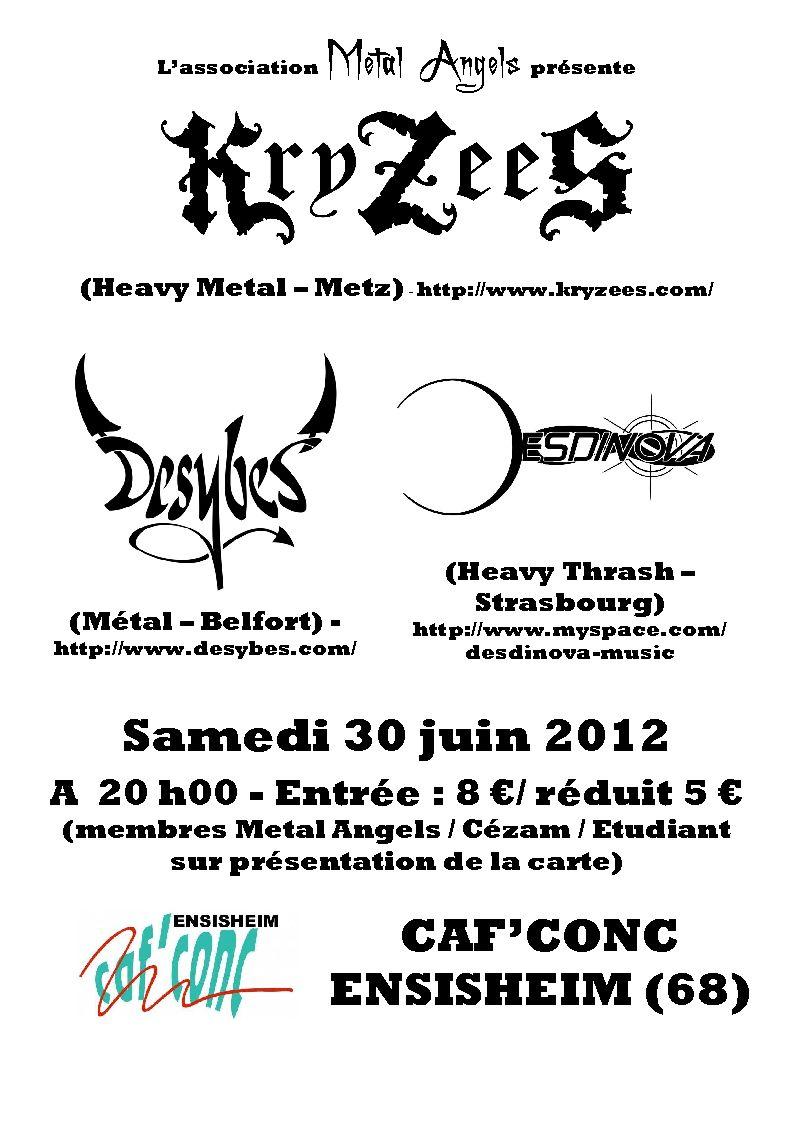 Concerts metal angels association metal angels - Caf mulhouse adresse ...