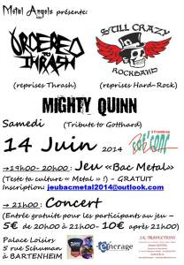 affiche jeu bac metal 2014 concert fd blanc
