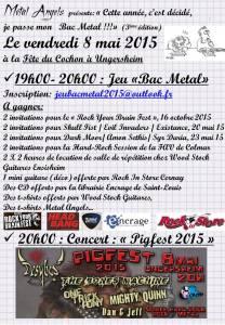 affiche jeu bac metal 2015