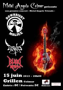 affiche Metal Angels Friends 15 juin 2013 2
