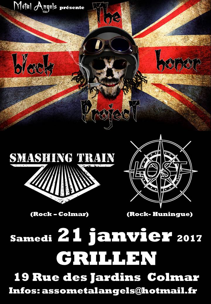The Black Honor Project / Smashing Train /Lost