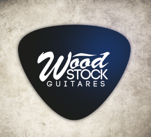 wood stock guitare