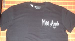 photo t shirt metal angels devant