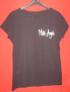photo t shirt metal angels FEMME 1 devant
