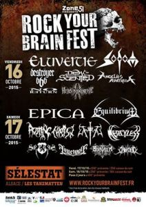 rock your brain affiche