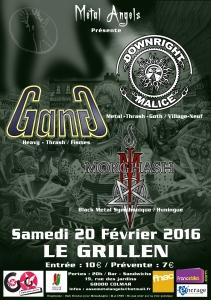 affiche concert metal7