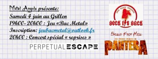 bandeau concert bac metal 16 événement