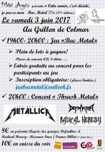 affiche jeu bac metal 17